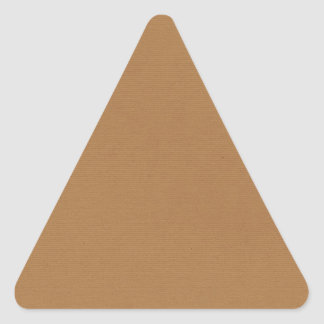 solid-brown3 SANDY BROWN  BACKGROUNDS WALLPAPERS T Triangle Sticker