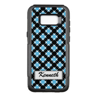 Solid Circle Cross by Kenneth Yoncich OtterBox Commuter Samsung Galaxy S8+ Case
