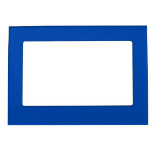 Solid Cobalt Blue Magnetic Picture Frame