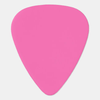 Solid Color: Hot Pink #2 Guitar Pick