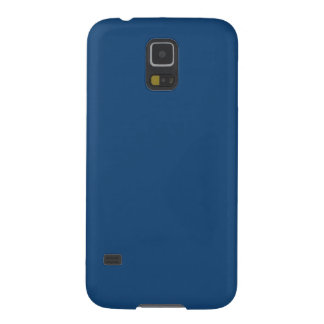 Solid Color Samsung Galaxy S5 Case in Monaco Blue