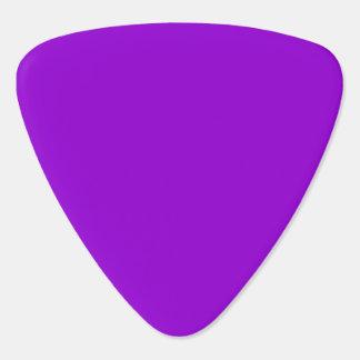 Solid Colour Dark Violet Guitar Pick