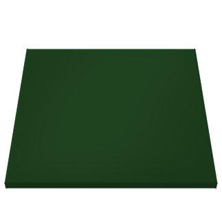 Solid DARK GREEN Canvas Prints