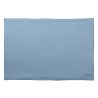Solid Dusk Blue Table Mat Placemat