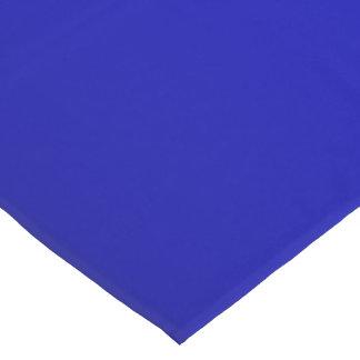 Solid Electric Cobalt Blue Short Table Runner