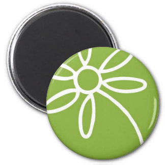 Solid Flair Circle Magnet