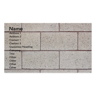Solid Foundation Pack Of Standard Business Cards