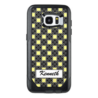 Solid Four Star Circle Cross by Kenneth Yoncich OtterBox Samsung Galaxy S7 Edge Case