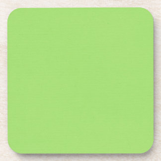 Solid Green Coaster