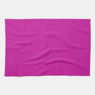 Solid Hot Pink Kitchen Towel
