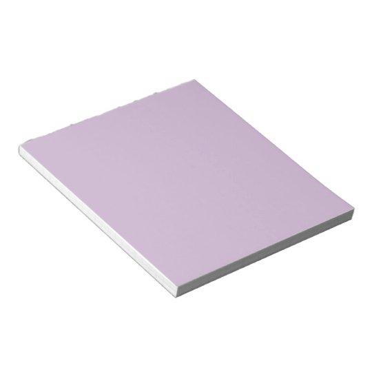 Solid Lavender Notepad