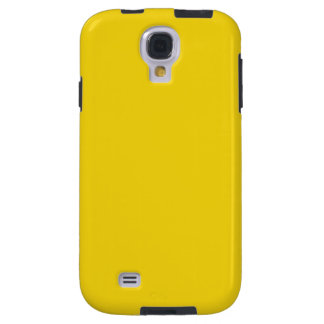 Solid Lemon Yellow Galaxy S4 Cases