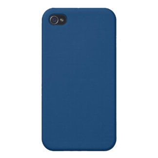 Solid Monaco Blue iPhone 4/4S Case