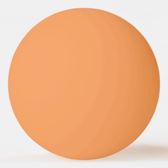 Solid Orange Colour Ping-Pong Ball