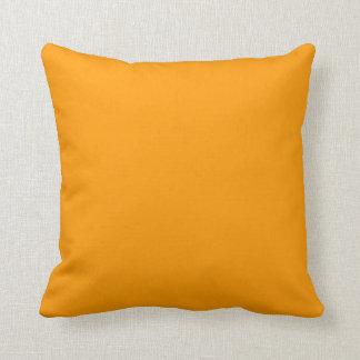Solid Orange Pillow