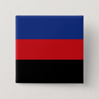 Solid Polyamory Pride Flag 2 Inch Square Button