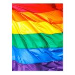 Solid Pride - Gay Pride Flag Closeup