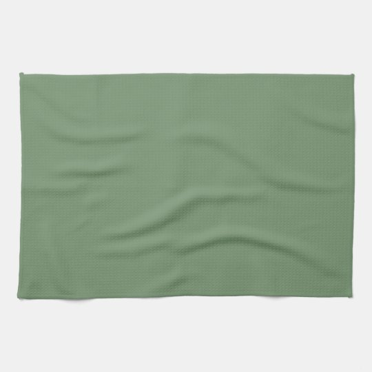 Solid Sage Green Kitchen Towel
