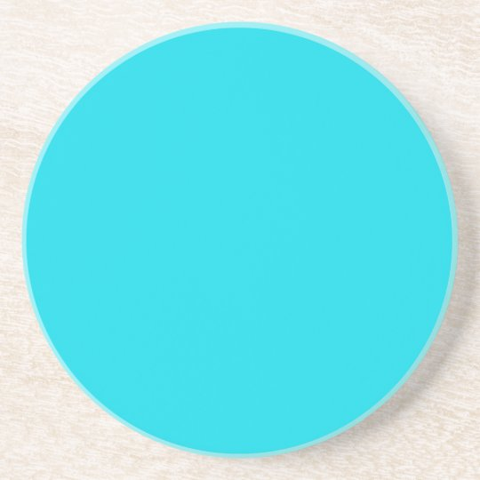 Solid Series---Light Blue coaster