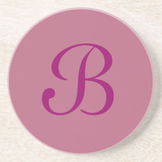 Solid Series---Pink coaster