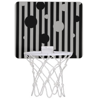 Solid Silver Mini Basketball Hoop