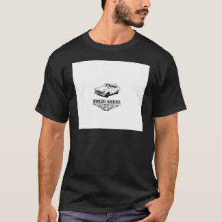 solid steel car white T-Shirt