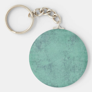 solid_teal CONCRETE SOLID TEAL TEXTURE TEMPLATE BA Keychain
