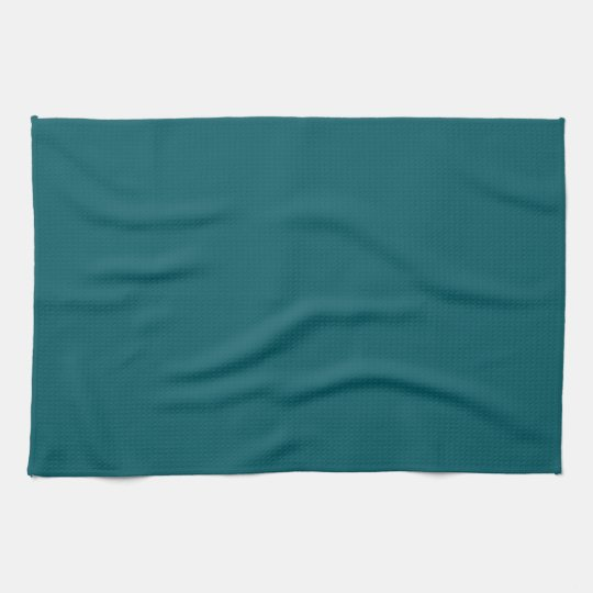 Solid Teal Green Kitchen Towel