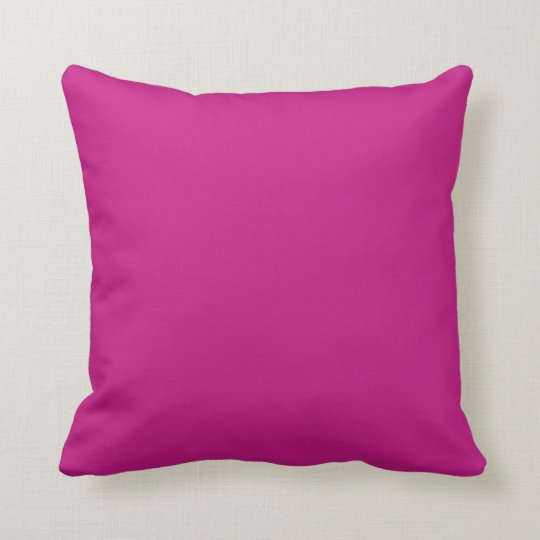solid violet red throw pillow