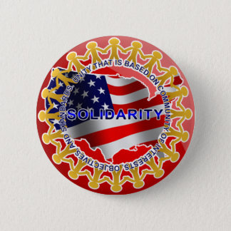 Solidarity 2 Inch Round Button