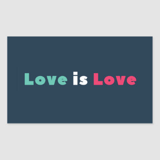 Solidarity Love Is Love Sticker