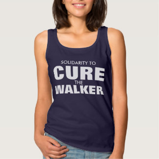SOLIDARITY TO CURE THE WALKER TANK TOP