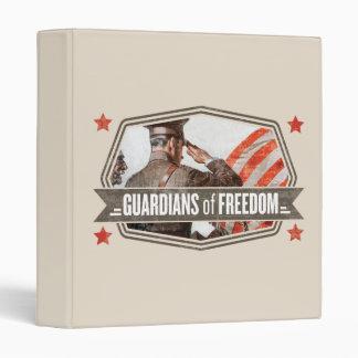 Solider-Guardian of Freedom Vinyl Binders