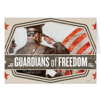 Solider-Guardian of Freedom Cards