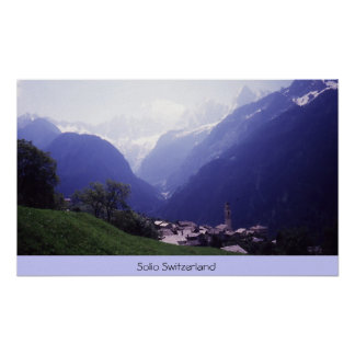 Solio Switzerland Poster