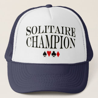 Solitaire Champion Trucker Hat