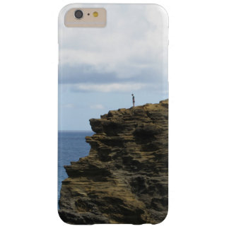 Solitary Figure on a Cliff Barely There iPhone 6 Plus Case