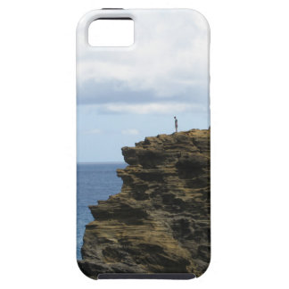 Solitary Figure on a Cliff Case For The iPhone 5