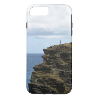 Solitary Figure on a Cliff Case-Mate iPhone Case