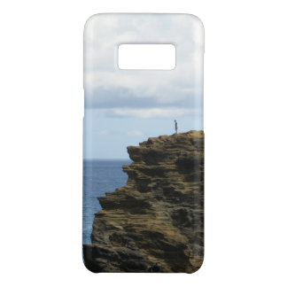 Solitary Figure on a Cliff Case-Mate Samsung Galaxy S8 Case