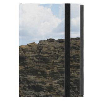 Solitary Figure on a Cliff iPad Mini Case