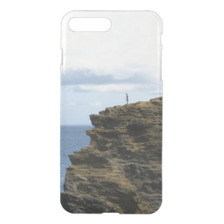Solitary Figure on a Cliff iPhone 8 Plus/7 Plus Case