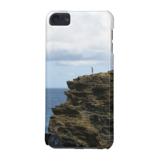 Solitary Figure on a Cliff iPod Touch (5th Generation) Cases