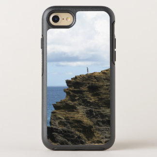 Solitary Figure on a Cliff OtterBox Symmetry iPhone 7 Case