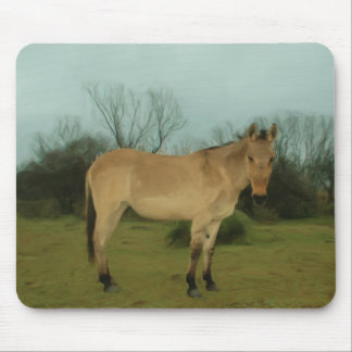 Solitary Mule Mouse Pad