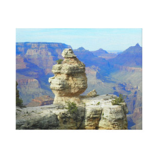 Solitary Rock Canvas Print