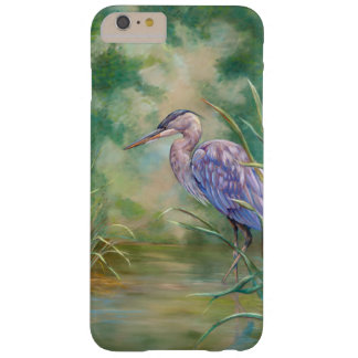 """""""Solitude"""" - Blue Heron Pastel Painting Barely There iPhone 6 Plus Case"""