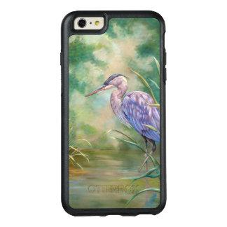 """Solitude"" - Blue Heron Pastel Painting OtterBox iPhone 6/6s Plus Case"