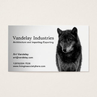 """Solitude"" Business Cards"