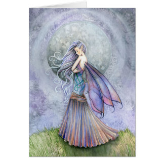 Solitude Fairy Greeting Card ~ Blank